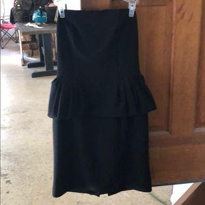 Express peplum dress
